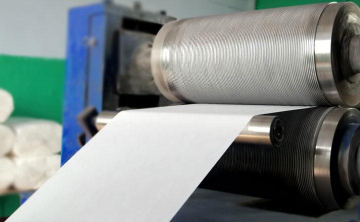 Rouleaux pour gaufrage sur papier