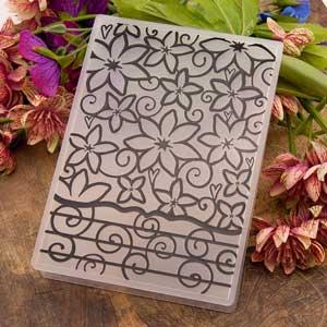 Carte gaufré Embossing folder