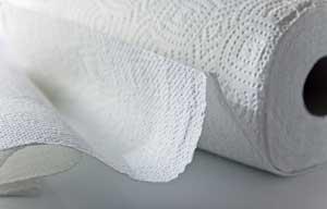 Essuie-tout papier serviette gaufré