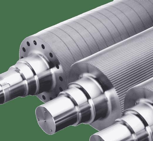 Nouveau rouleau et cylindre en acier inoxydable gravé