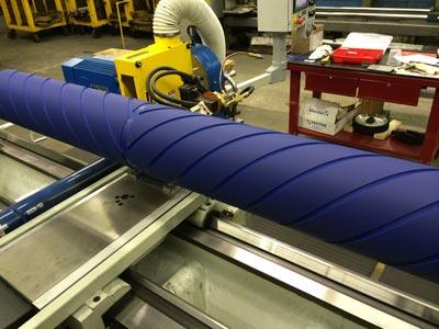 Rectification roller et rouleau groove sur machine