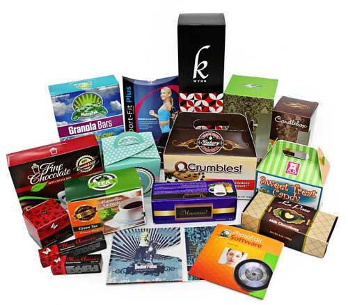 Emballage cartonné issue de Cliché pour vernissage vernissage