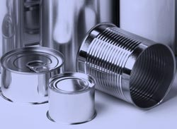 Emballage métallique conserve