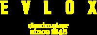 Logo Evlox denim maker