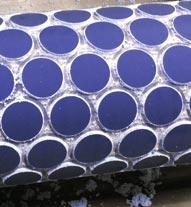 Rouleau gravé décoration structure pour emballage métallique